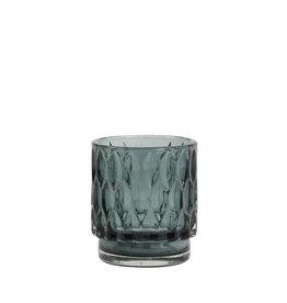 Light & Living Theelicht Grace glas donker groen