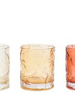 Light & Living Theelicht Hojasa glas bruin