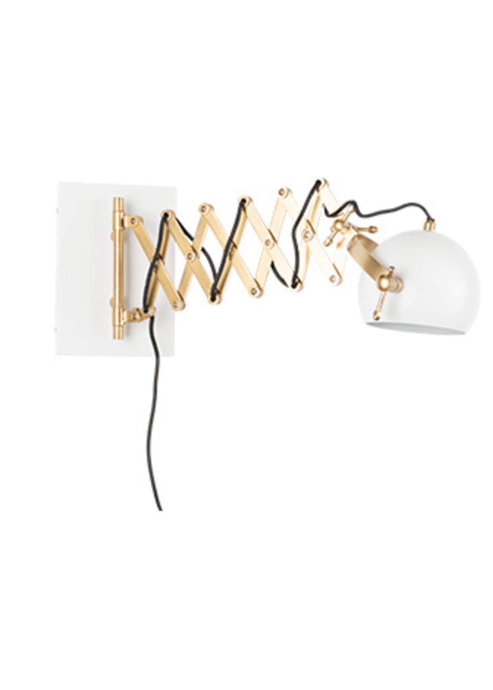 Zuiver Wall lamp sarana wit/groen