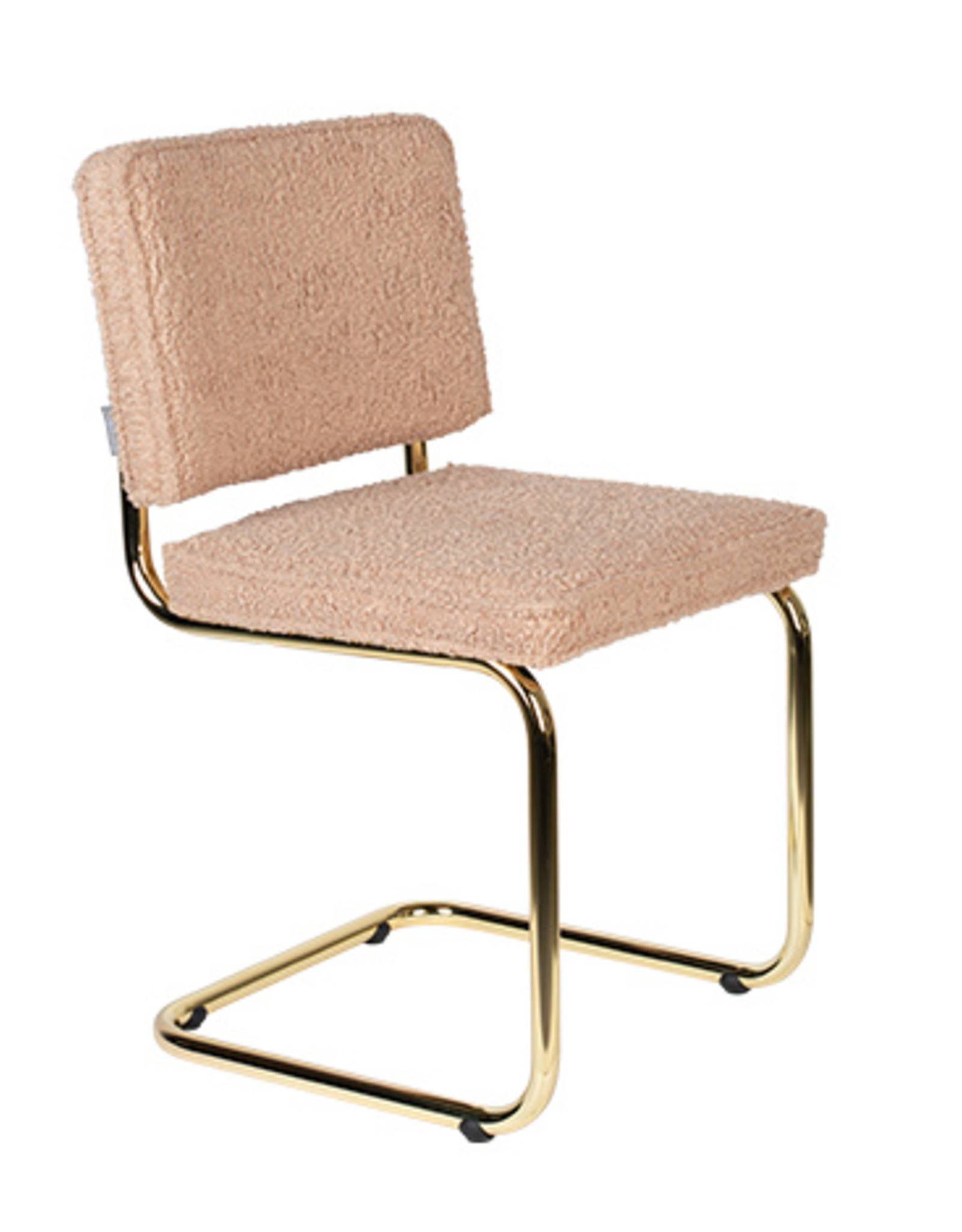 Zuiver Chair teddy pink
