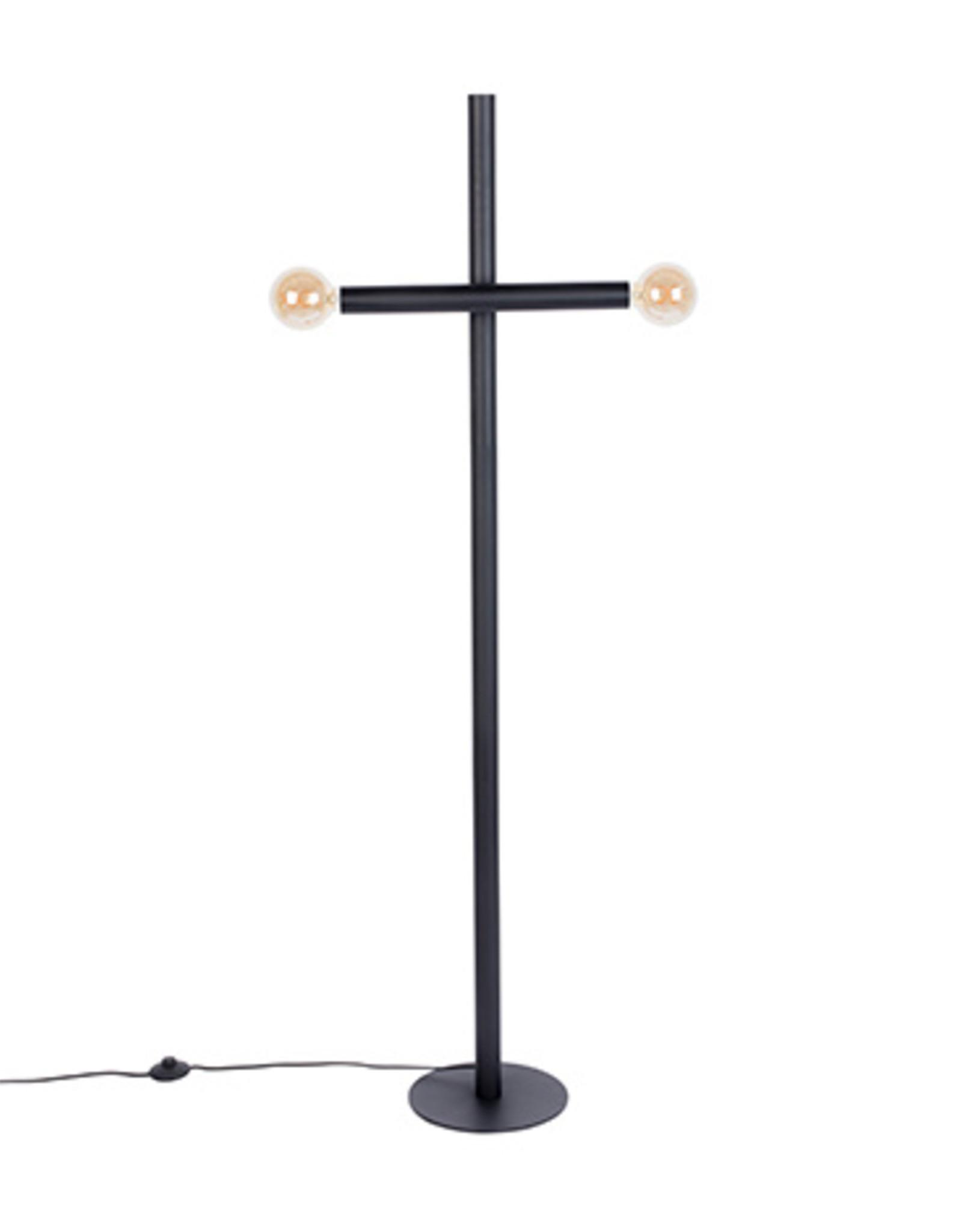 Zuiver Floor lamp hawk black