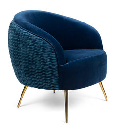 Bold Monkey So Curvy fauteuil royal blue