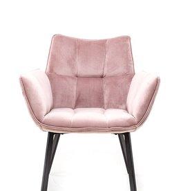 Moods Collection Loungestoel MRS velvet rose