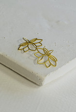 By Bar Amsterdam PD Lotus Earring One Size Gold