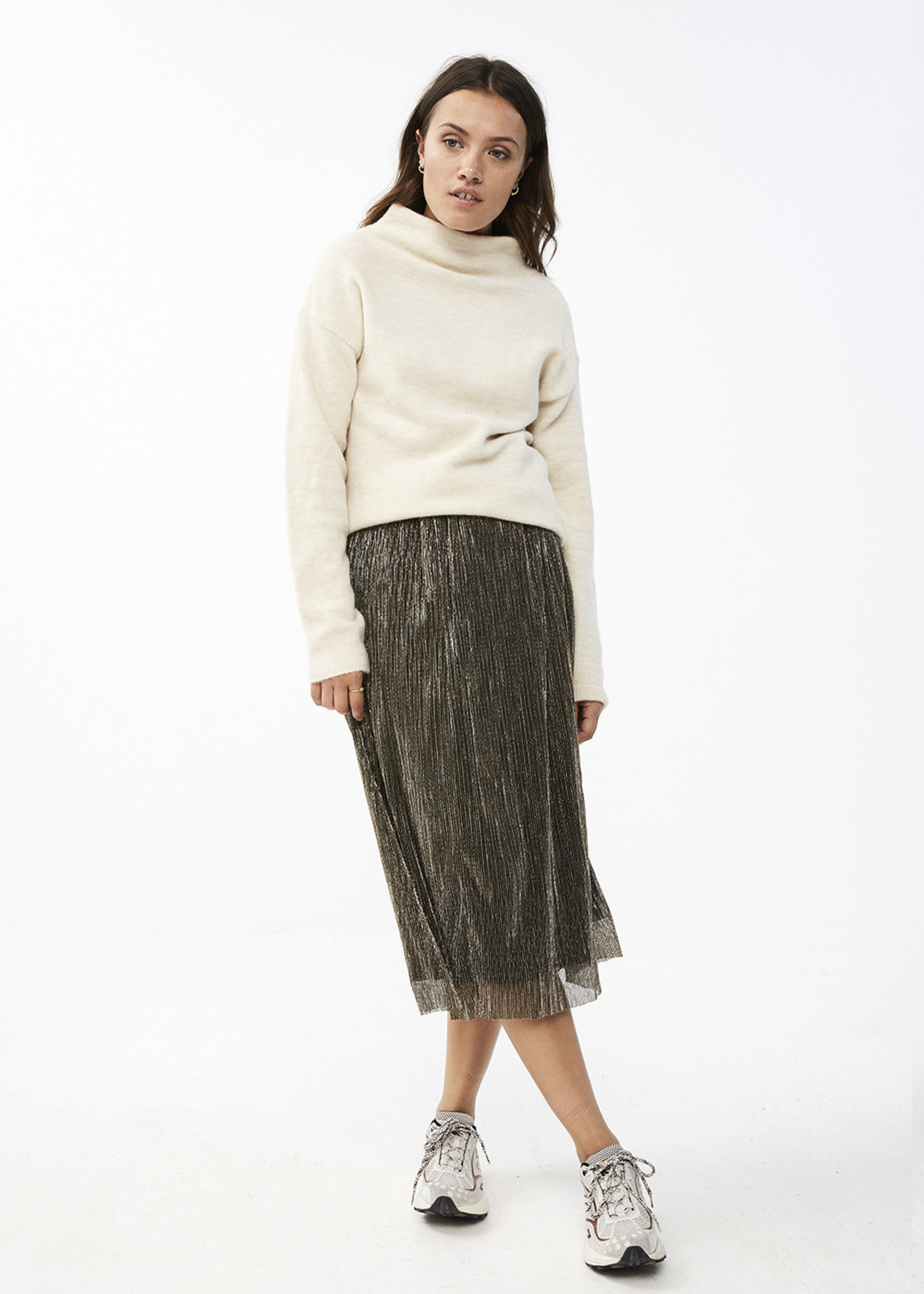By Bar Amsterdam Isabelle Long Skirt gold