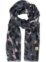 Zusss Sjaal met print zwart