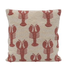 A La Beads cushion lobsters A La