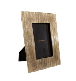Fotolijst rechthoekig Leonie 10x15 goud 16.5x21.5x1.5cm
