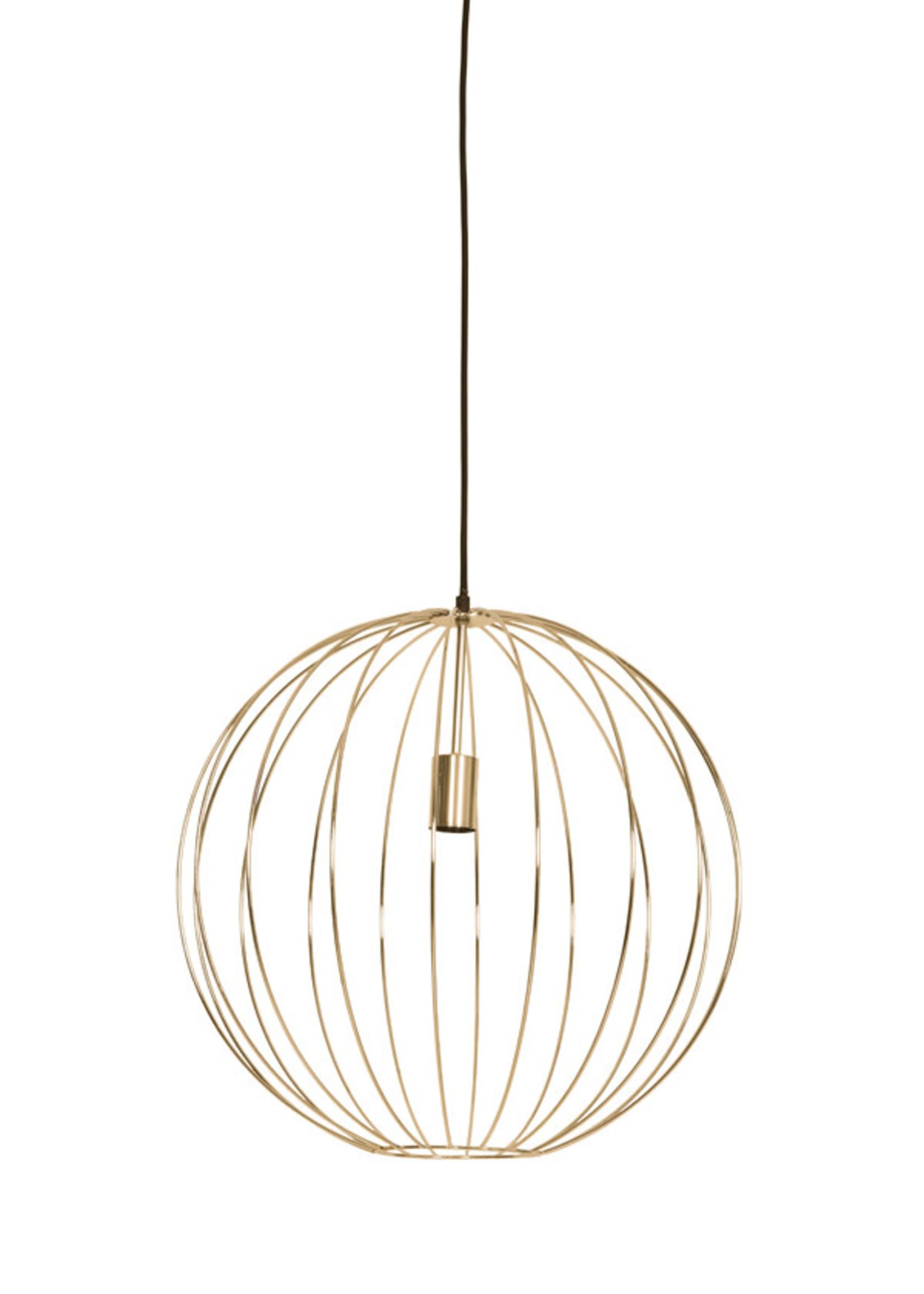 Light & Living Hanglamp Suden Glans Goud 50x51