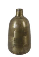 Light & Living Vaas Deco Faryl Antiek Brons 23x43