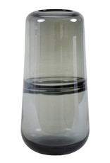 Light & Living Vaas Ermida glas grijs luster 15x31