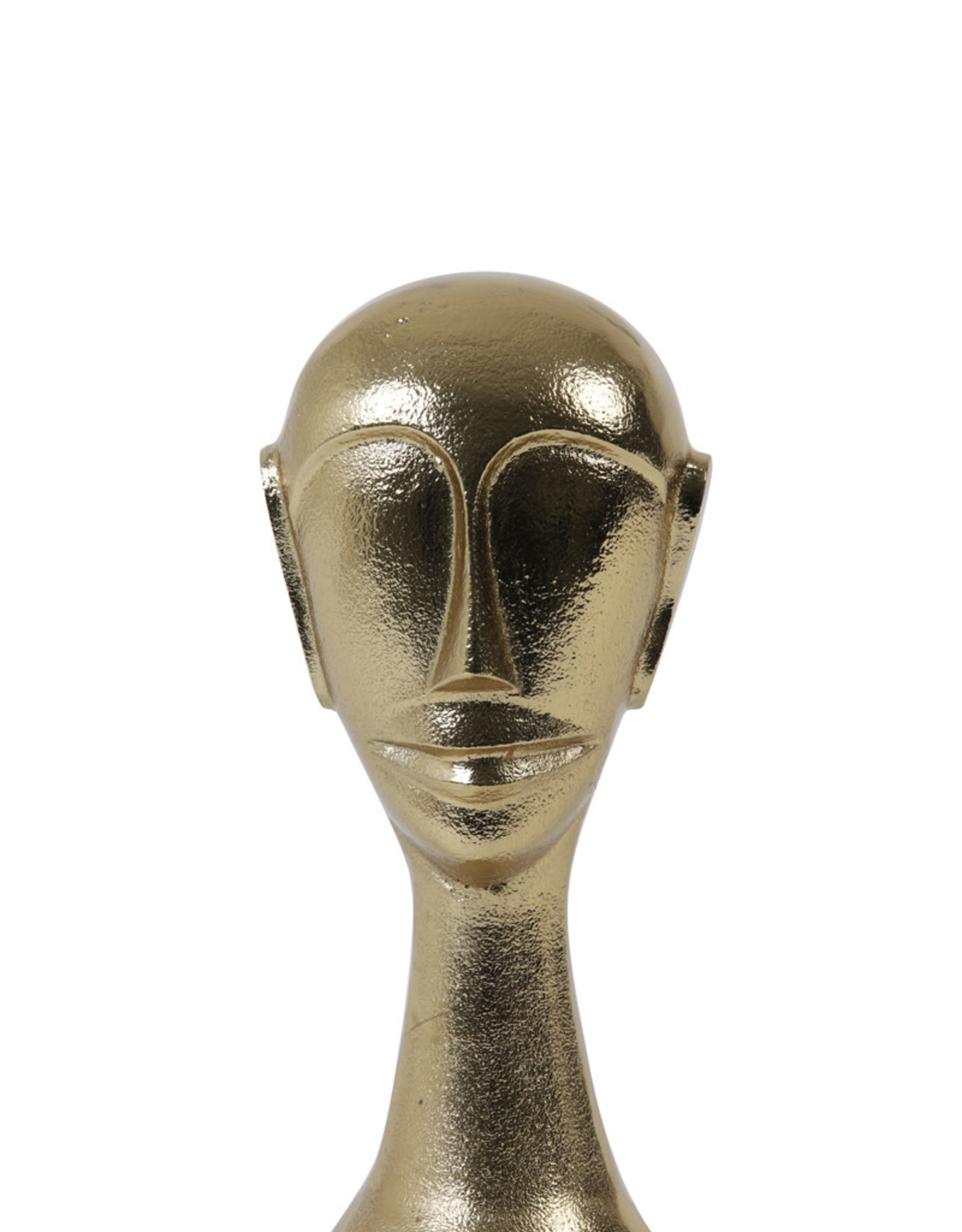 Light & Living Ornament HEAD goud 10,5x10x22,5