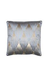 Light & Living Kussen 45x45cm JANISE blauw-goud