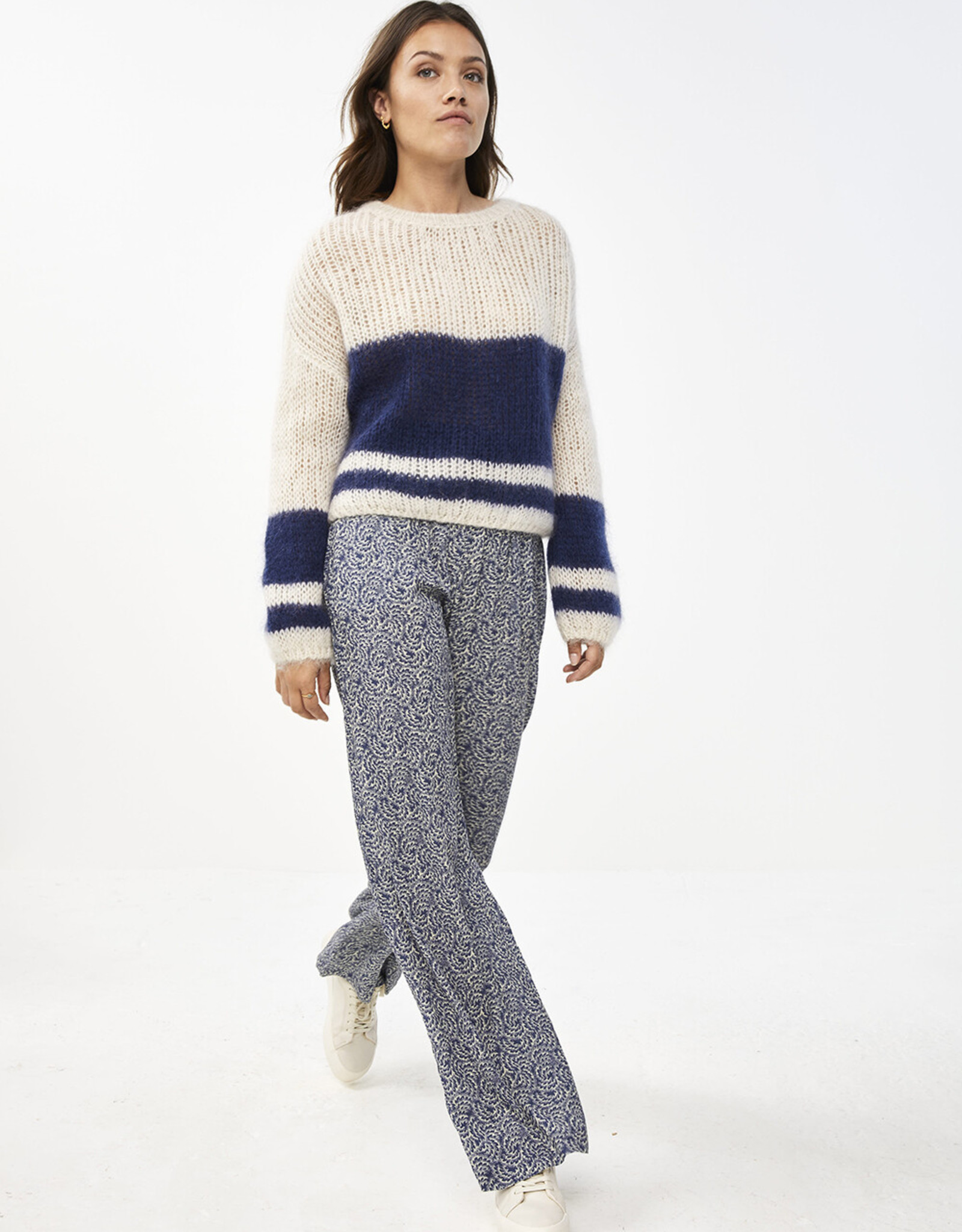 By Bar Amsterdam Evi Astro Pullover Blue