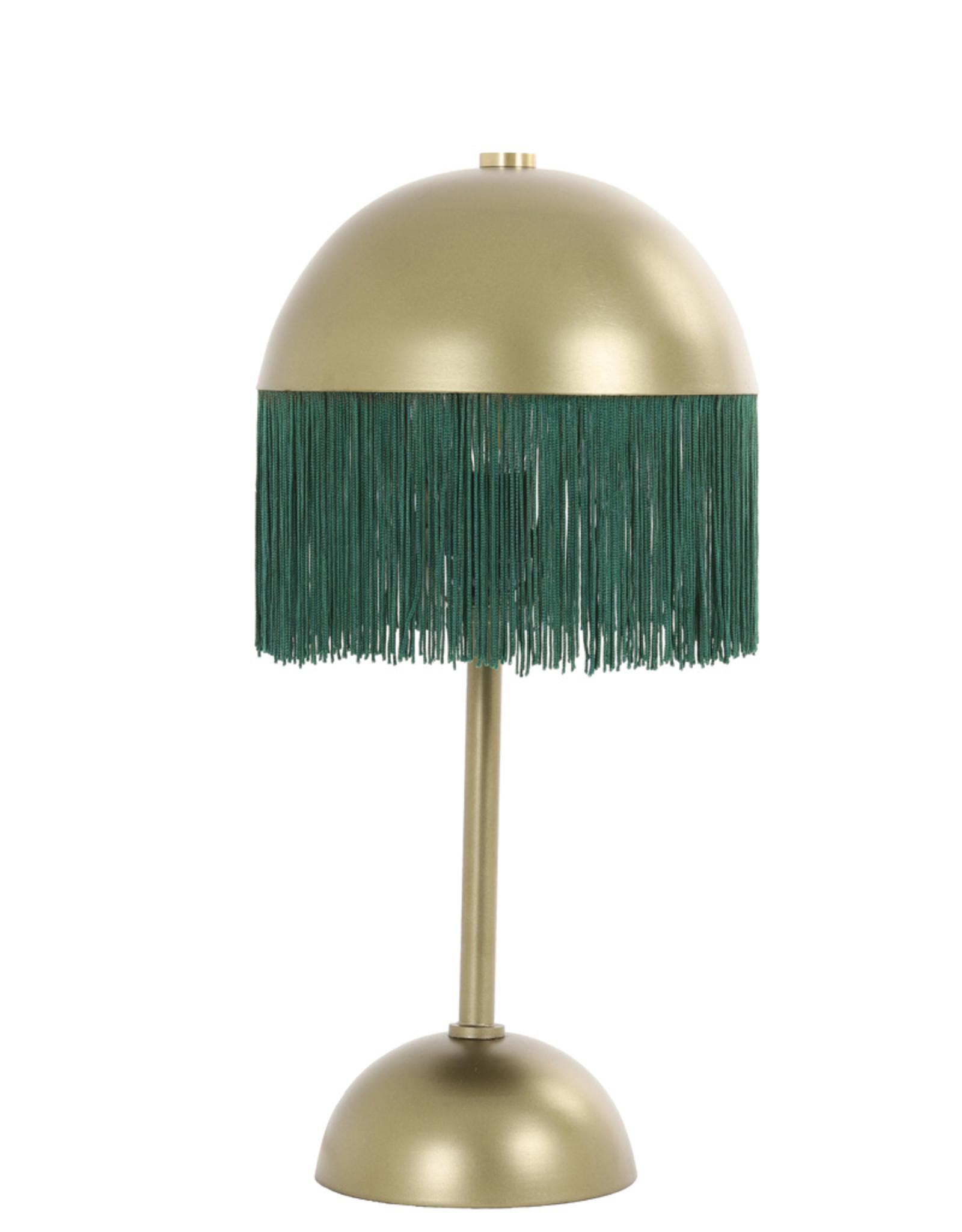 Light & Living Tafellamp Ø22x43 cm OIVA groen