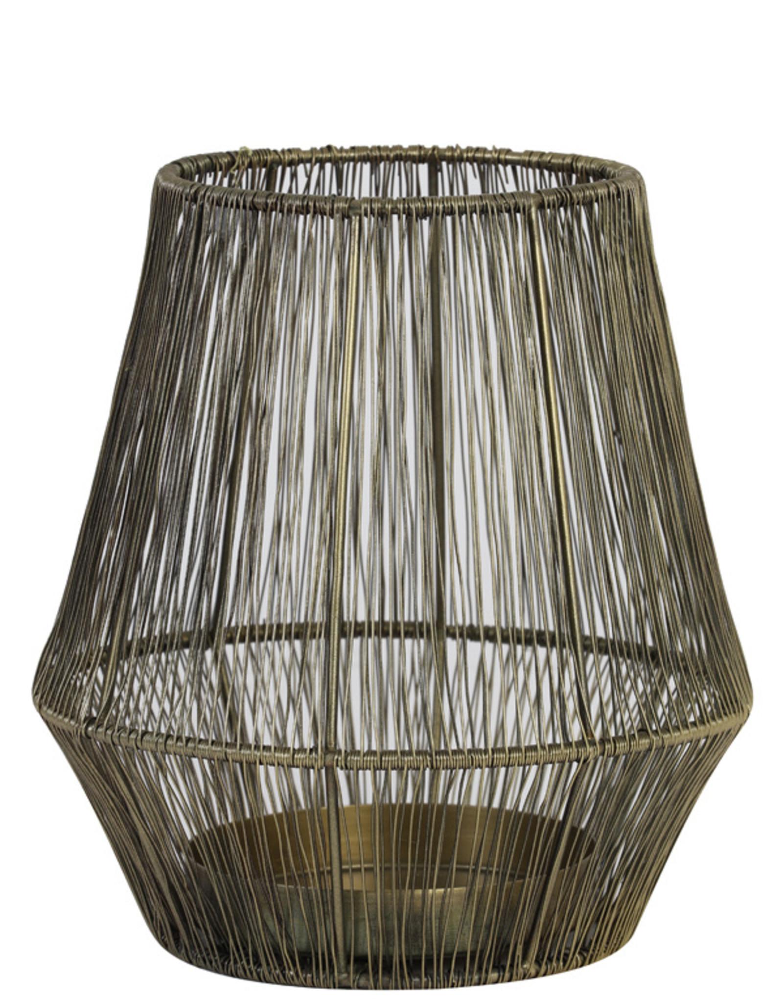 Light & Living Theelicht Ø20x22 cm VITU antiek brons