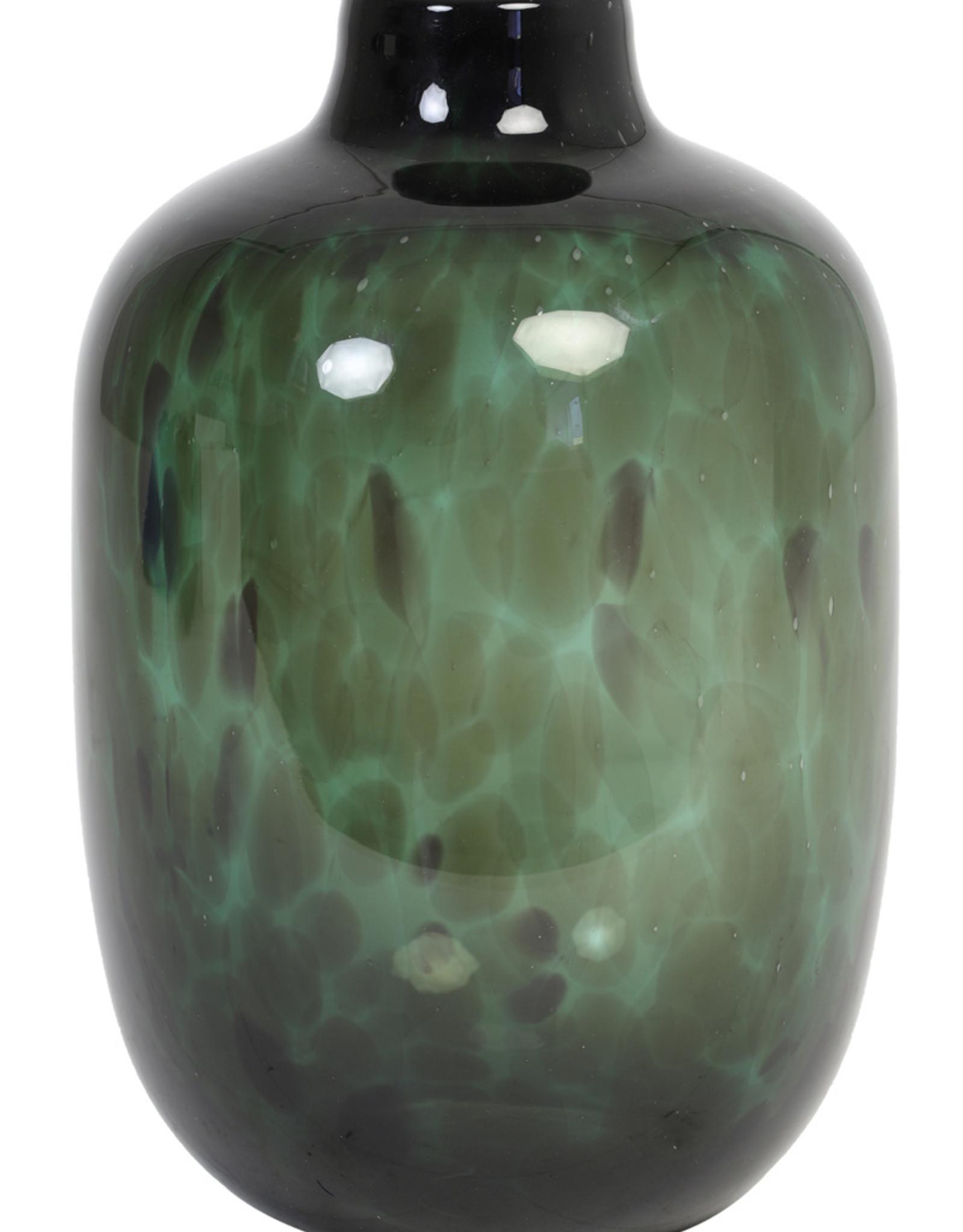 Light & Living Vaas Ø16x25 cm DAKAR glas groen