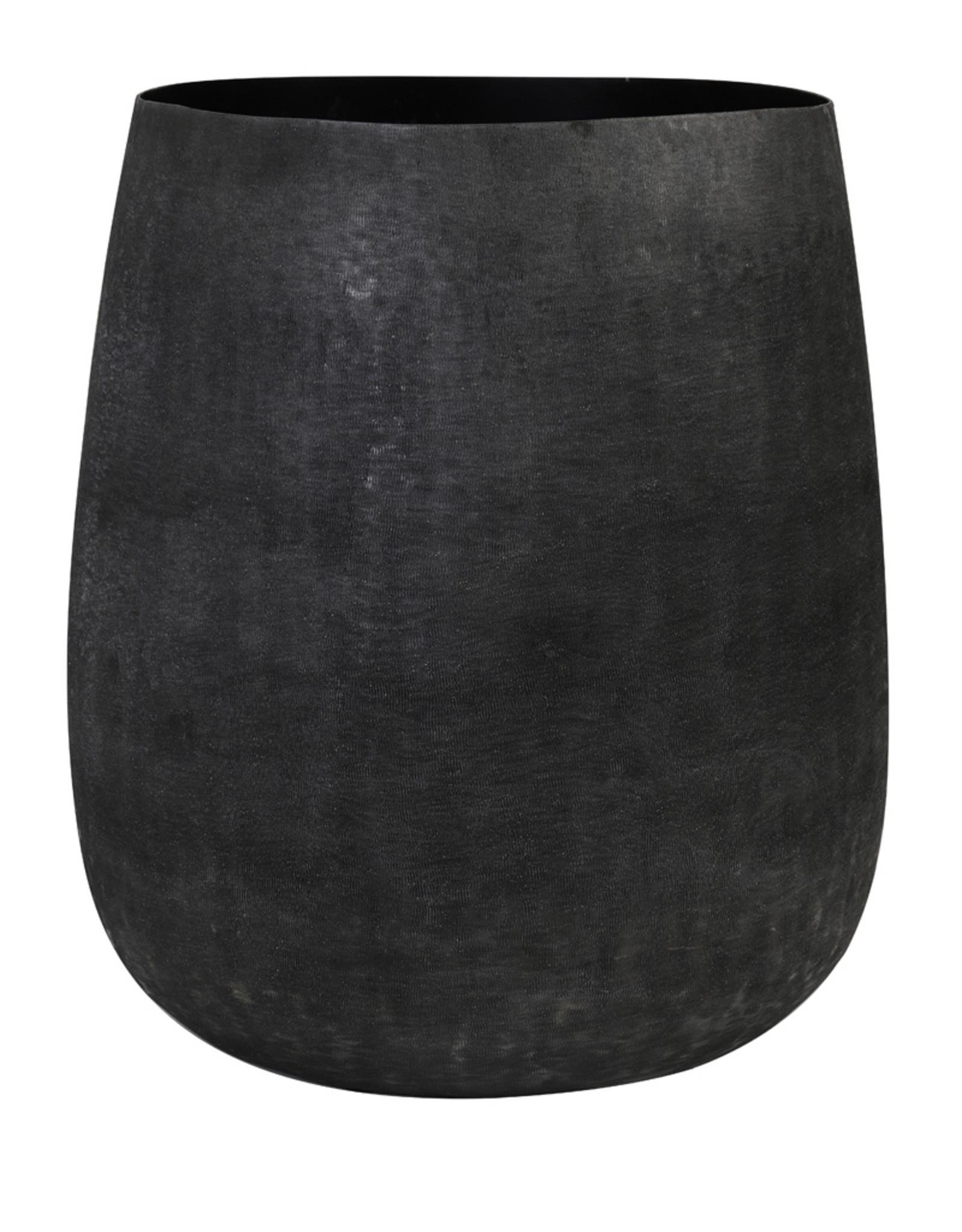 Light & Living Pot deco Ø39x42 cm GENOLI mat zwart