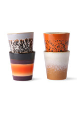 HK living 70's americano: ristretto mugs (set of 4)
