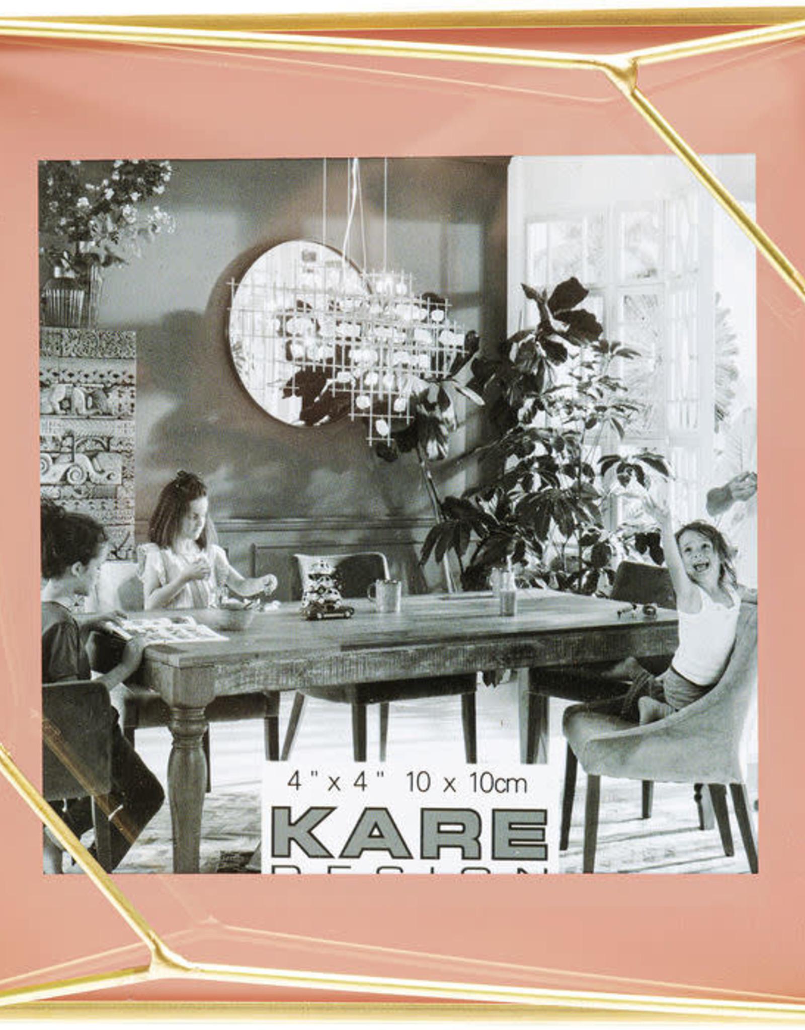 Kare Design Frame art pastel pink 10x10