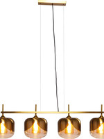 Kare Design Hanging lamp Golden Goblet quattro