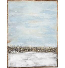 Kare Design Acrylic Painting Abstract Horizon 120x90