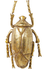 Kare Design Wall decoration beetle gold