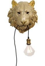 Kare Design Wall lamp animal tiger head
