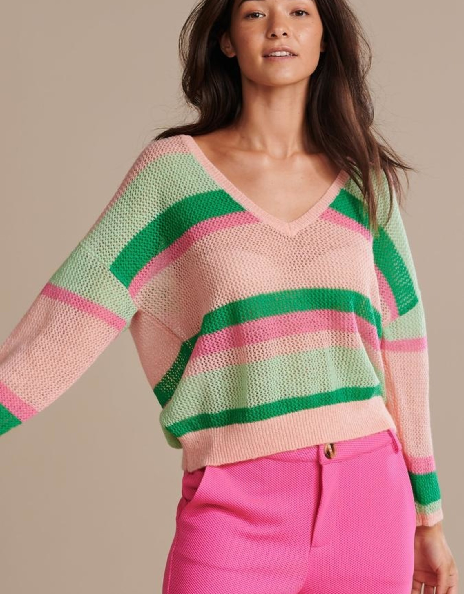 Pom Amsterdam PULLOVER ­ Over the Rainbow