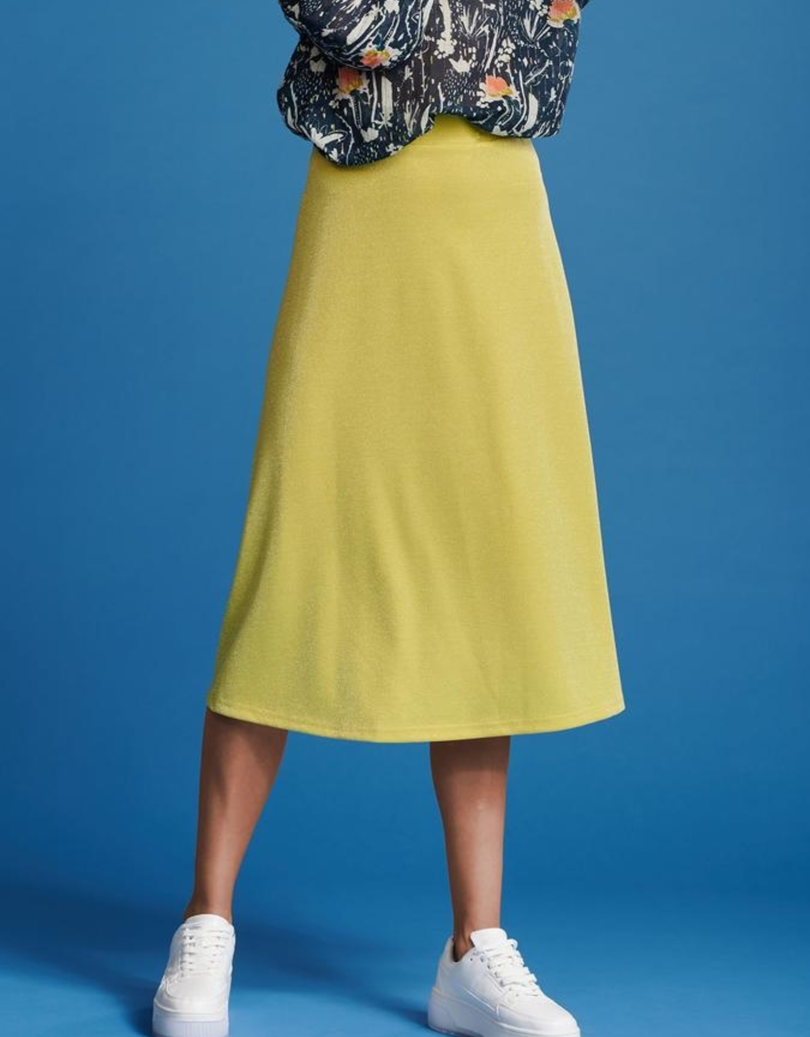 Pom Amsterdam SKIRT ­ Lemon Shine