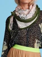 Pom Amsterdam SHAWL  Chameleon Dances Blush