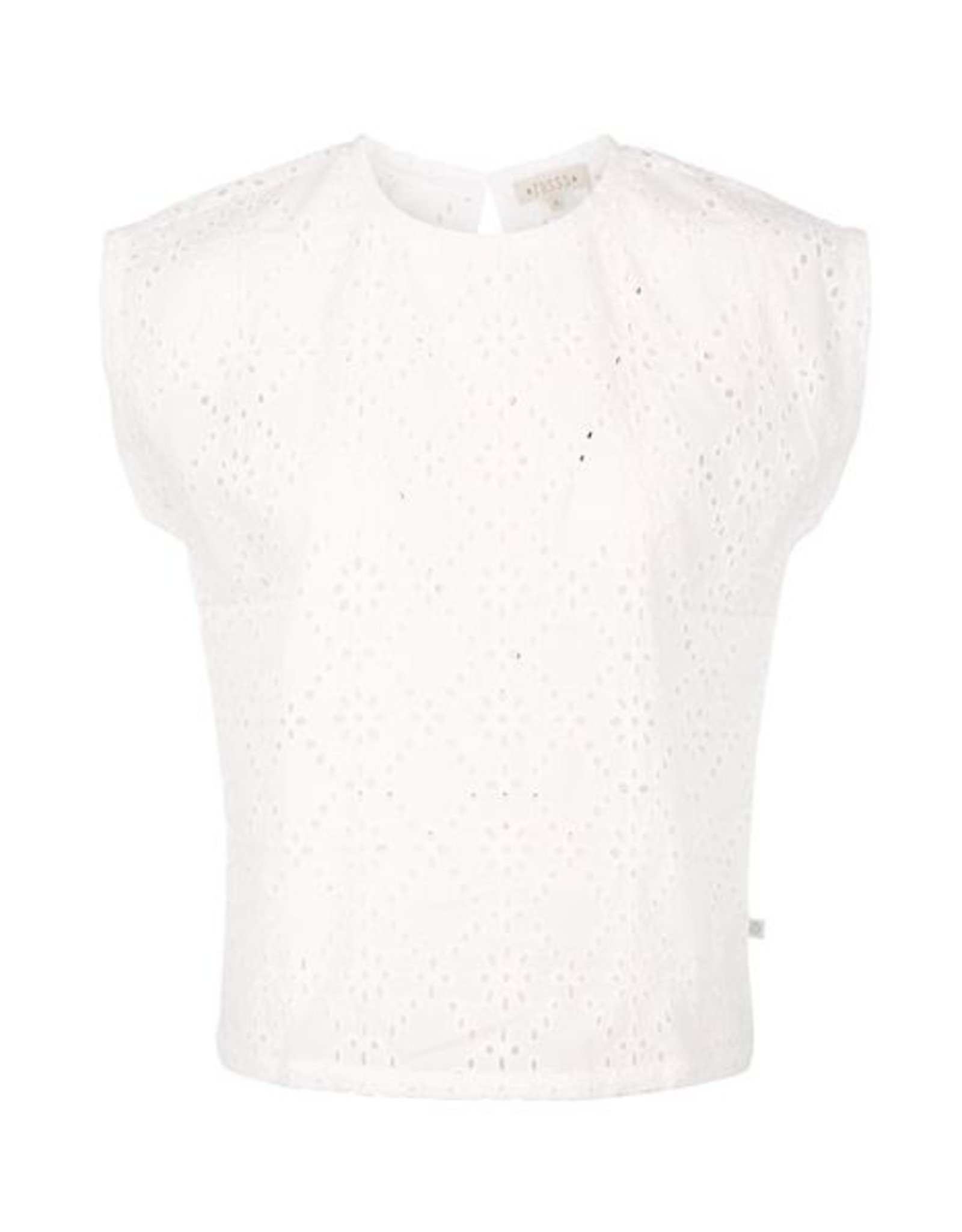 Zusss Broderie blouseje wit