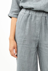 By Bar Amsterdam Ines Linen Pant Smoke Blue