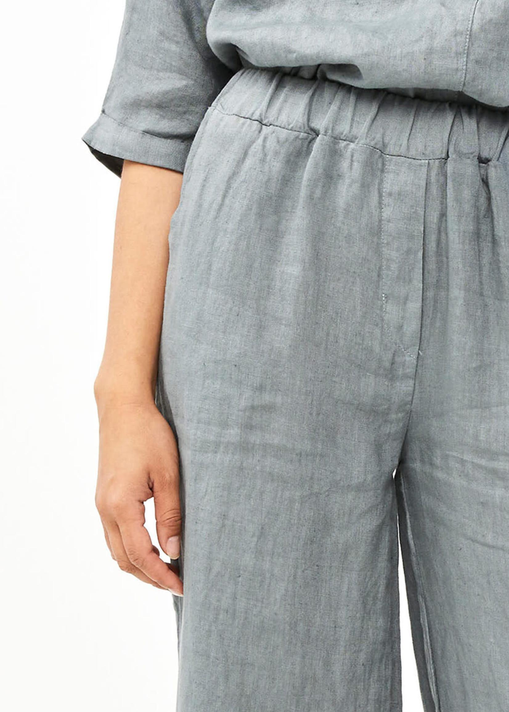By Bar Amsterdam Ines Linen Pant Smoke Blue