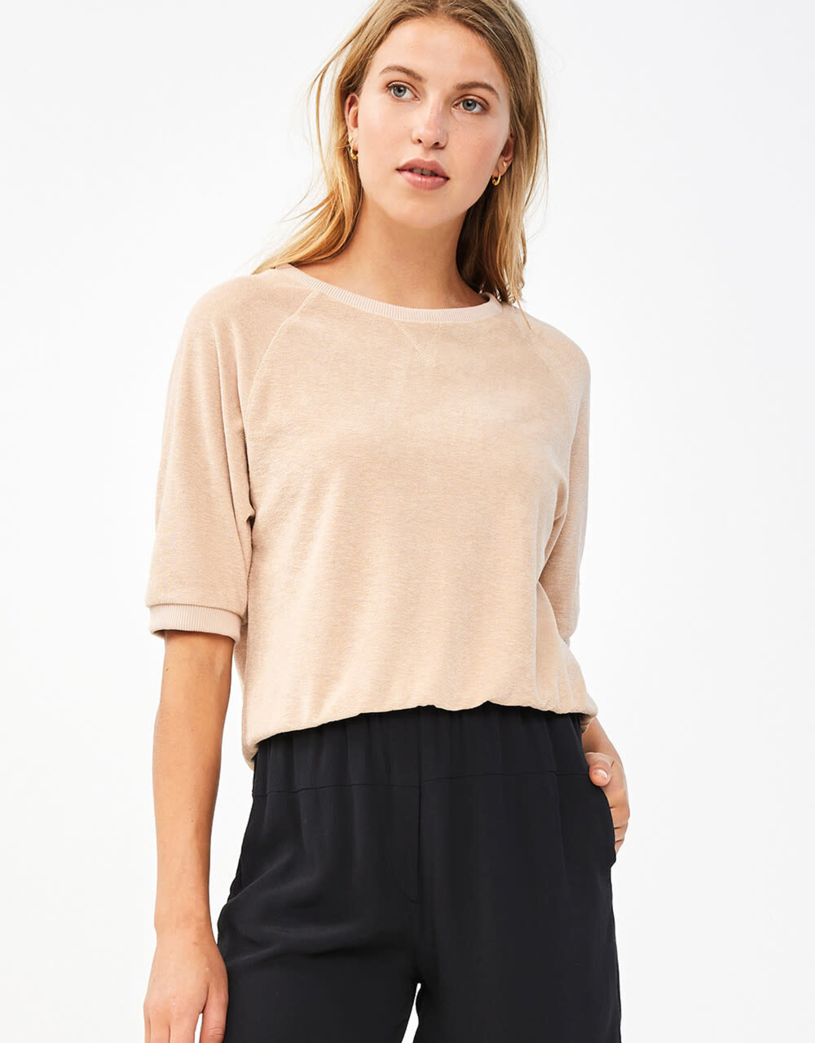 By Bar Amsterdam Neva Slub Sweater Nude