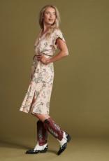 Pom Amsterdam DRESS - Chameleon Dances Blush