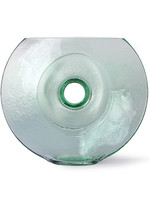 HK living Glass circle vase