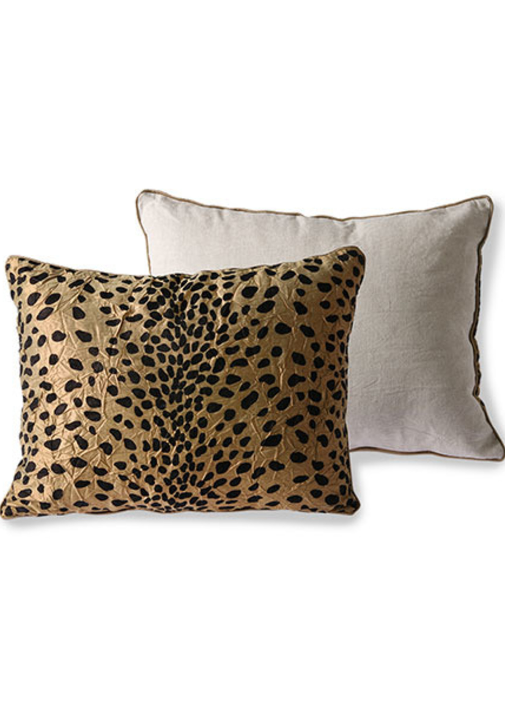 HK living DORIS for HKLIVING: cushion print panther (30x40)