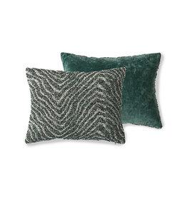 HK living DORIS for HKLIVING: jacquard weave cushion zigzag (30x40)