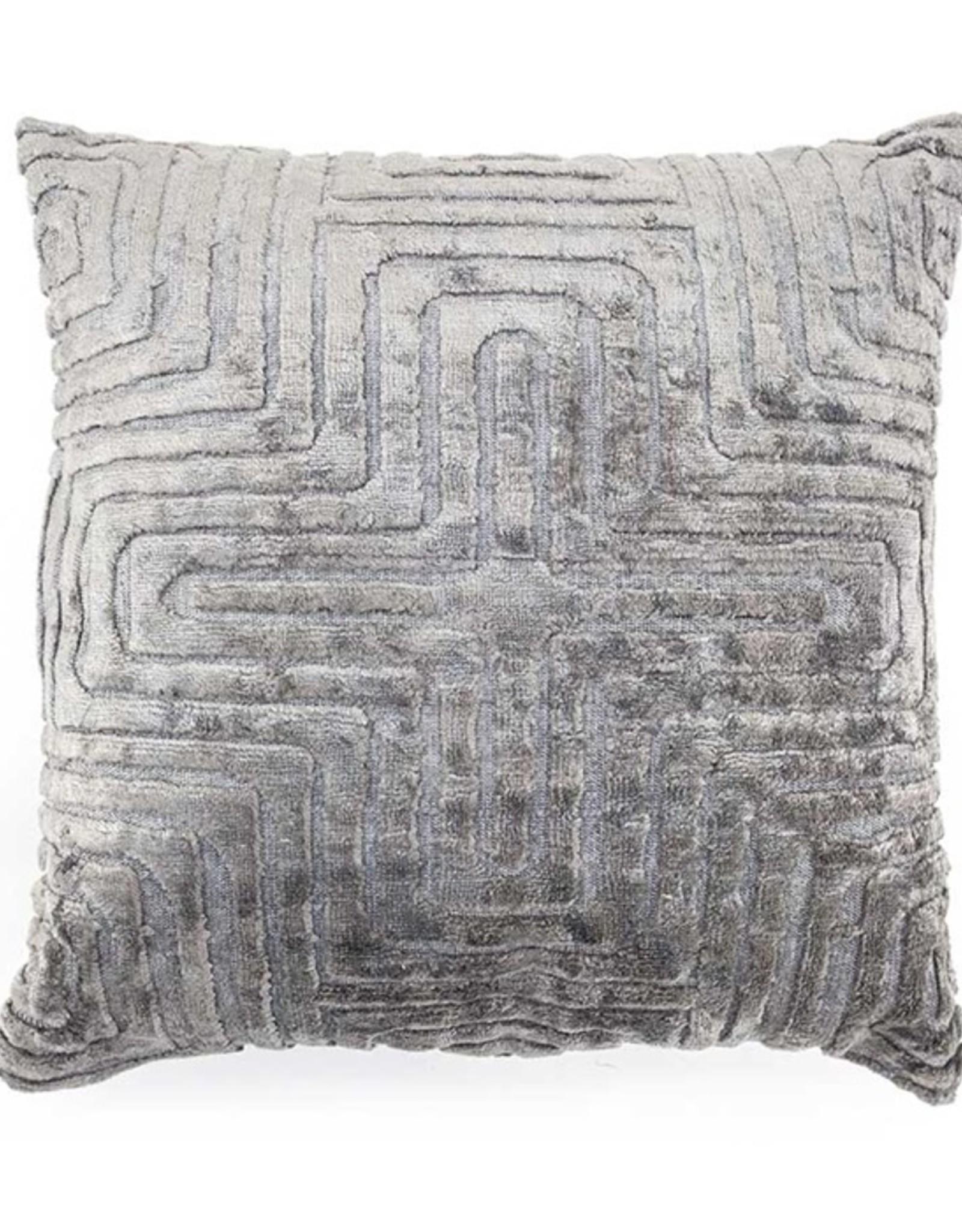 By Boo Pillow Madam 45x45cm grey