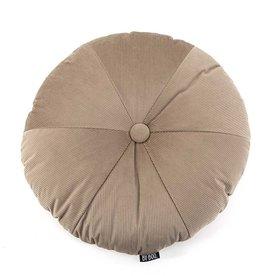 By Boo Pillow Faith round 50cm beige