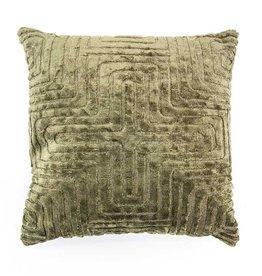 By Boo Pillow Madam 45x45cm Green