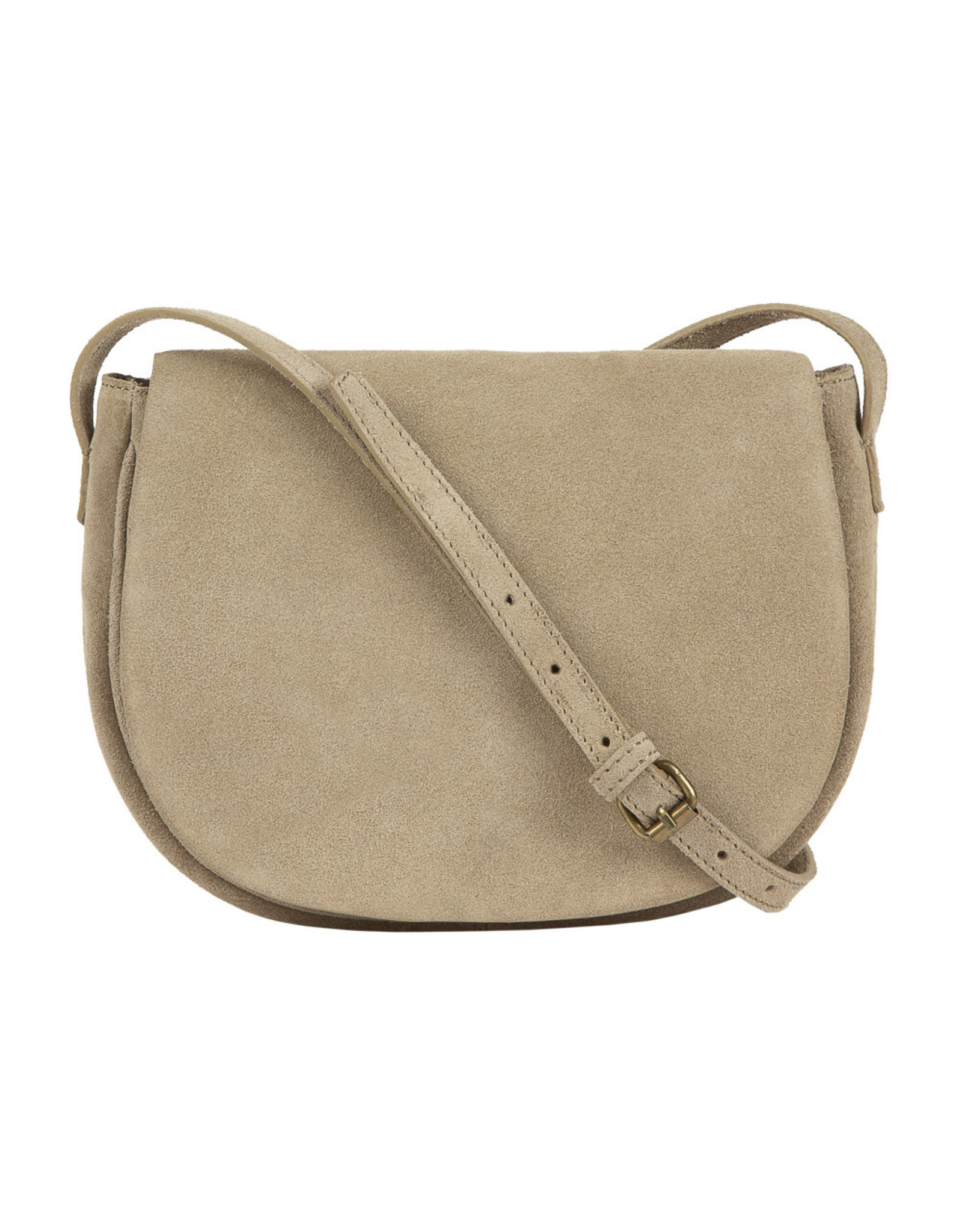 By Bar Amsterdam Paris Suede Bag Sand