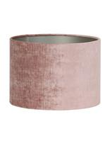Light & Living Kap cilinder 35-35-30 cm GEMSTONE oud roze