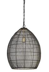 Light & Living Hanglamp Ø40x53 cm MEYA zwart-goud
