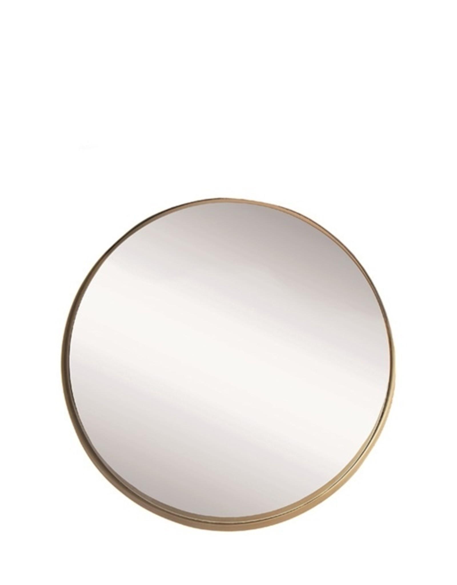 Riverdale Spiegel amaro goud rond 45 cm