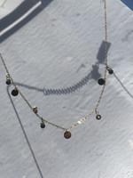 ZAG Bijoux SNX12380 Necklace DORE vert - gold green