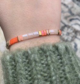 ZAG Bijoux Bracelet DORE corail - gold coral