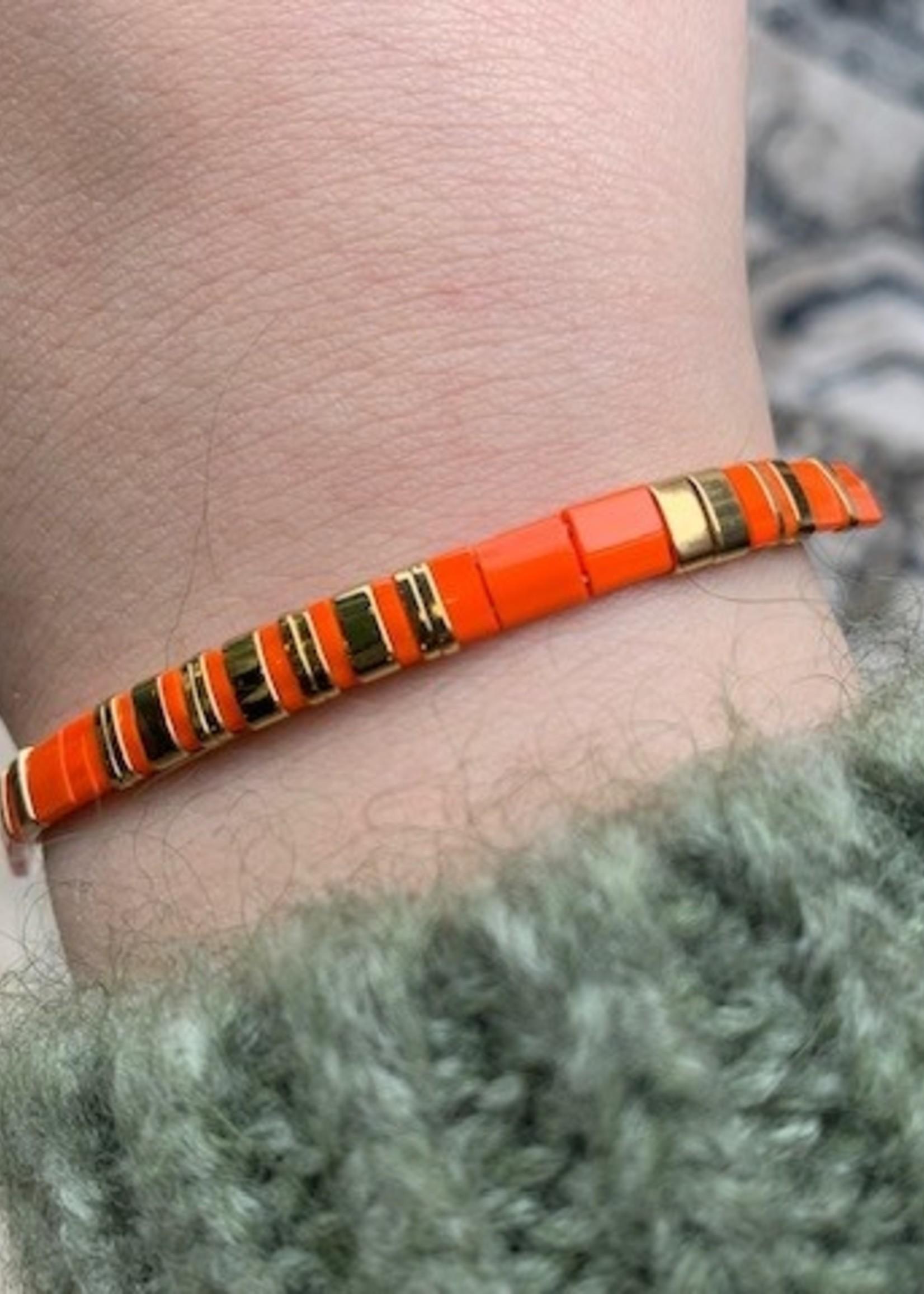 ZAG Bijoux Bracelet ACIER orange