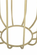 Moods Collection Bijzettafel - goud/zwart marmer